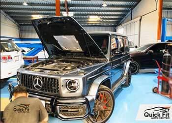 Best Workshop For Mercedes AC Repair Dubai