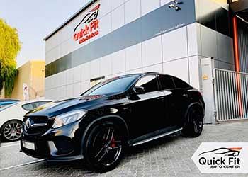 Best Workshop For Mercedes Autobody Shop Dubai