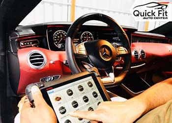 Mercedes Computer Inspection Dubai