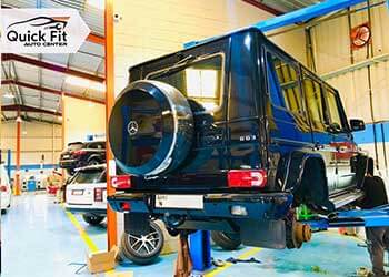 #1 Workshop For Mercedes Brakes Service Dubai