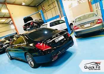 Mercedes Workshop Dubai