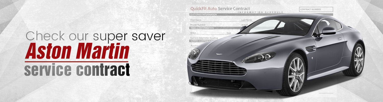 Aston Martin Service Contract