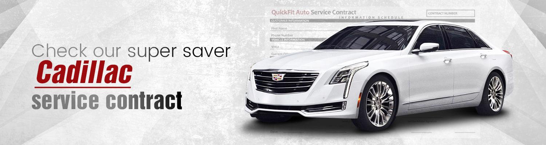 Cadillac Service Contract