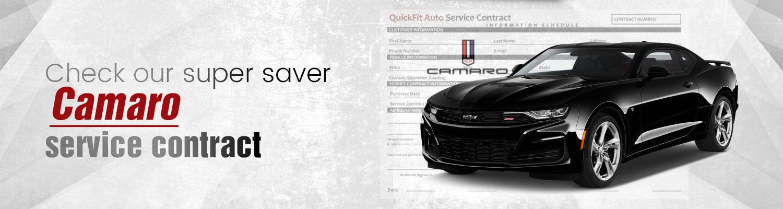 Camaro Service Contract-