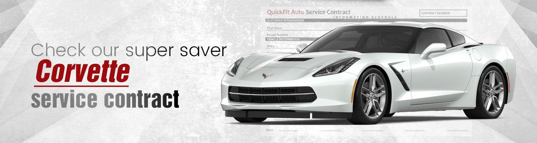 Corvette Service Contract