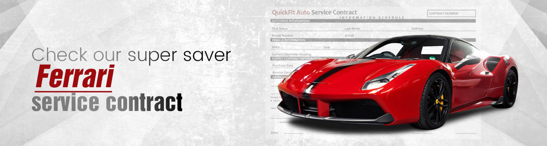 Ferrari Service-Contract