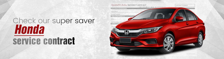 Honda Service Contract