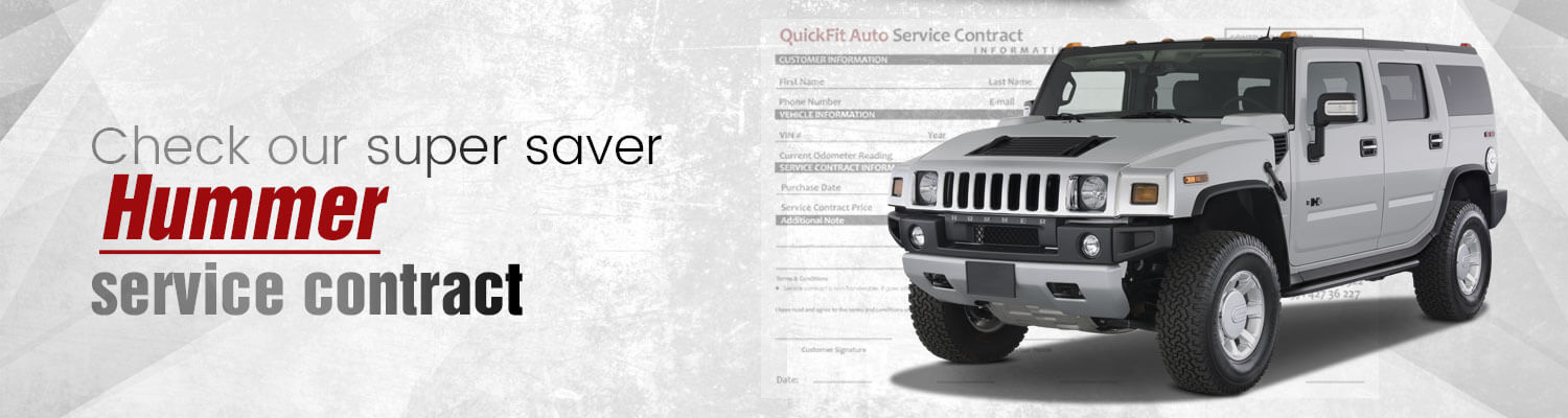 Hummer Service Contract