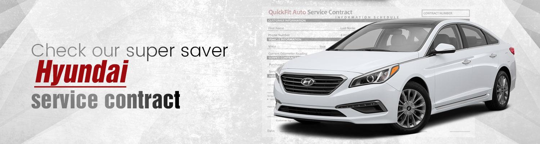 Hyundai Service Contract