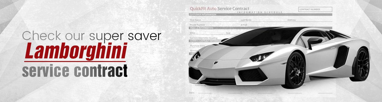 Lamborghini Service Contract