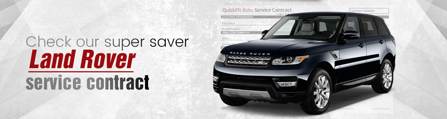 Land Rover Min Service Contract