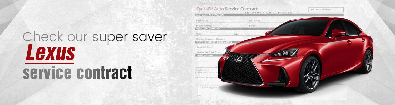 Lexus Service-Contract