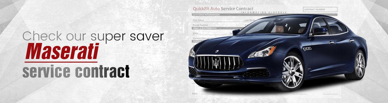Maserati Service Contract
