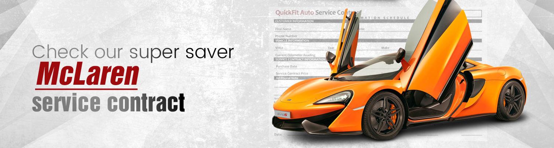 McLaren Service Contract