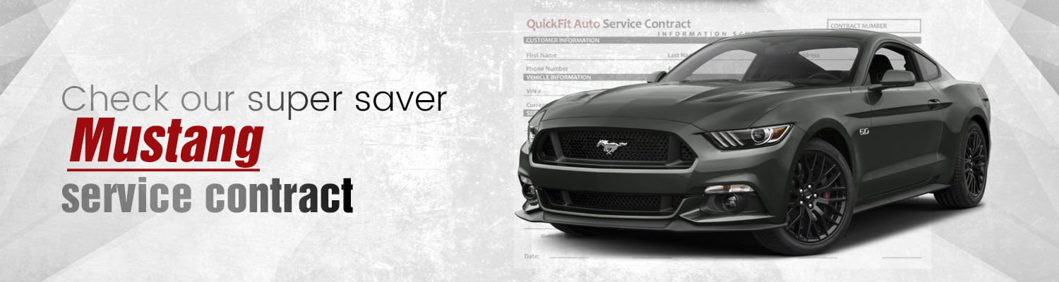 Mustang Service Contract