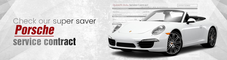 Porsche Service Contract