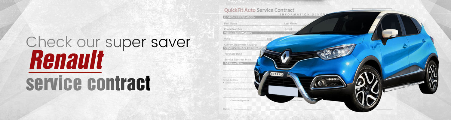 Renault Service Contract