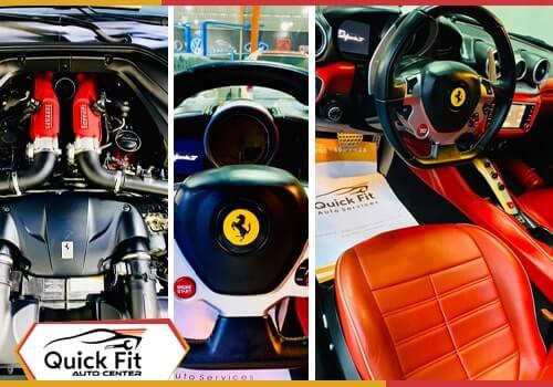 Ferrari California Detailing feature