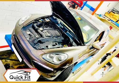 Porsche Cayenne Struts Leak feature