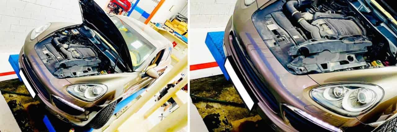 Porsche Cayenne Struts Leak banner