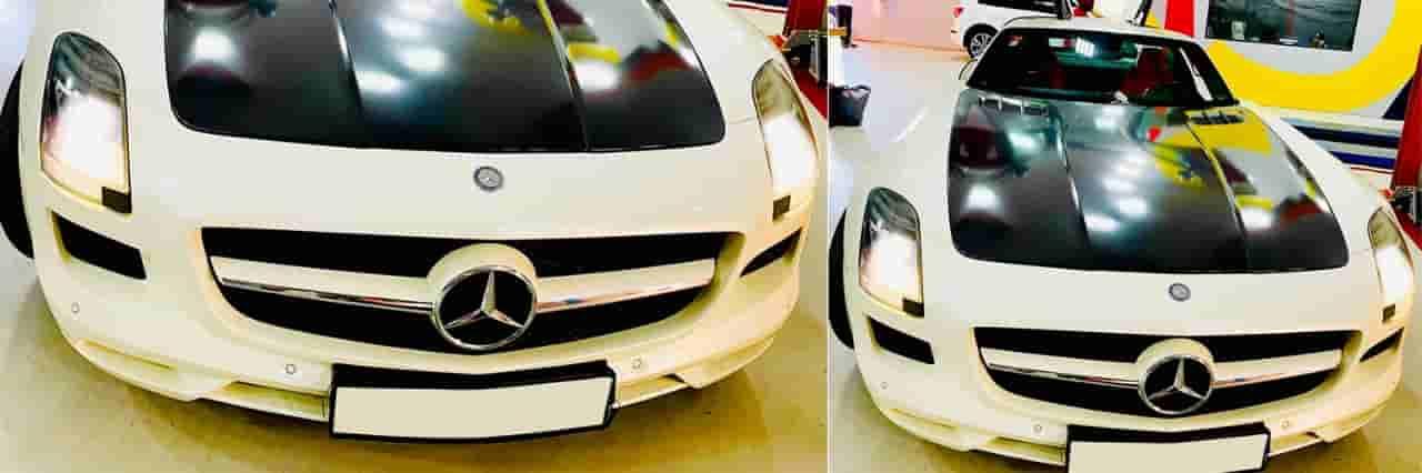 Mercedes Benz SLS minor service banner